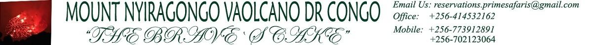 MOUNT NYIRAGONGO VOLCANO DR.CONGO Logo